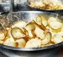 Fresh Potato Chips by Susan Savad