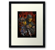 Scorpion: Flawless Victory Framed Print