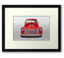 1953 Chevrolet 3100 Pickup Framed Print
