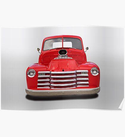 1953 Chevrolet 3100 Pickup Poster