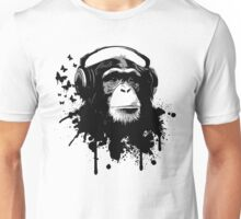 Monkey Business - Black Unisex T-Shirt