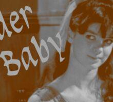 Spider Baby - a cult horror icon Sticker