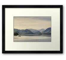 The Ferry And The Jaws Of Borrowdale Framed Print
