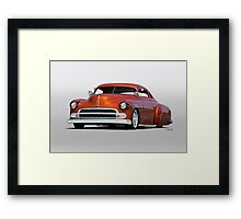 1951 Chevrolet Custom Coupe Framed Print