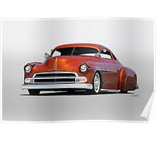 1951 Chevrolet Custom Coupe Poster
