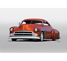 1951 Chevrolet Custom Coupe Photographic Print