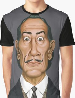 Celebrity Sunday - Salvador Dali Graphic T-Shirt