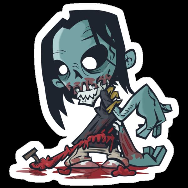 Nail Zombie by nikholmes