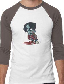 Clapper Zombie Men's Baseball ¾ T-Shirt
