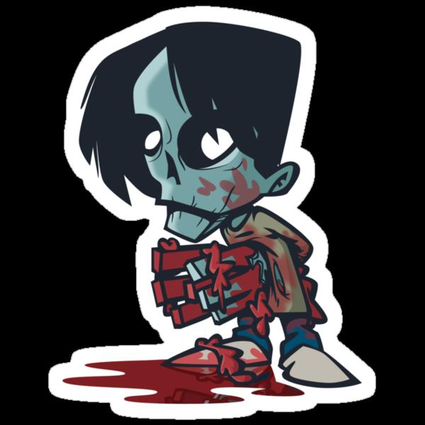 Clapper Zombie by nikholmes