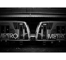 Metro Trains Photographic Print