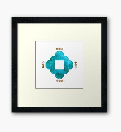 Sudfa (synchronicity) Framed Print