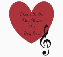 Music is in my heart and my soul by WhisperedDream