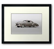 1950 Chevrolet Bel Air 'Naked and Afraid' Framed Print