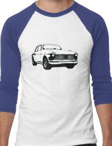 Classic Volvo Amazon illustration Men's Baseball ¾ T-Shirt