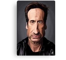 Celebrity Sunday - David Duchovny Canvas Print
