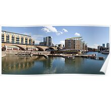 Limehouse Basin Panorama II Poster