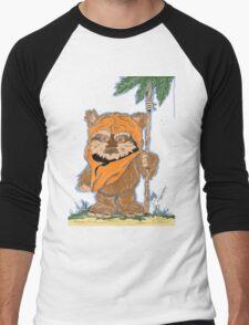 EWOK  Men's Baseball ¾ T-Shirt