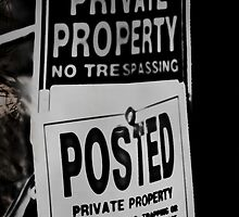 Private Property - iPhone and iPod cover by Scott Mitchell