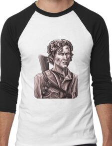 Bruce Campbell - Army of Darkness Men's Baseball ¾ T-Shirt