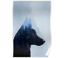 Double Exposure: Canon - Portrait Poster