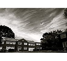 Interesting Clouds Photographic Print