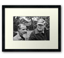 Royce and Shane Framed Print