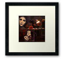 Touching the ephemeral...(2) Framed Print