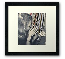 mrs. Vinyl Framed Print
