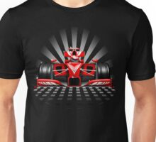 Formula 1 Red Race Car Unisex T-Shirt