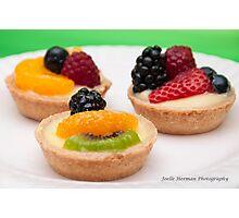 Fruit Tarts Photographic Print