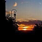 Coucher de soleil depuis ma titine by Marie Moriscot