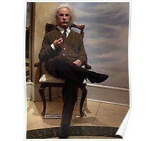 Figura de Cera..................................................Albert Einstein. Poster