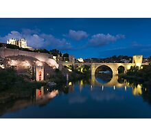 St Martin bridge, Toledo, Castilla la Mancha, Spain  Photographic Print