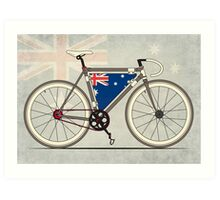 I love My Bike and Australia Art Print