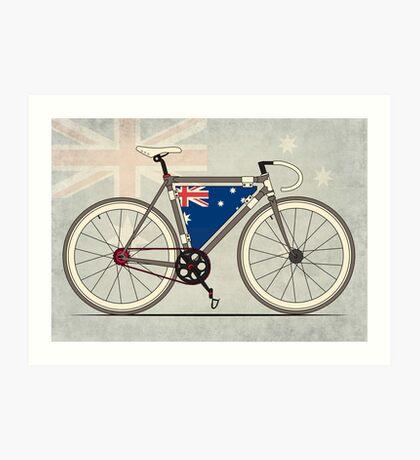 I love My Bike and Australia Art Print