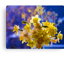 Floral Reflections Canvas Print