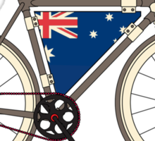 I love My Bike and Australia Sticker