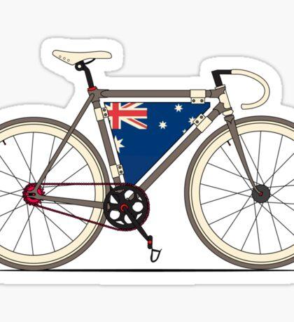 I love My Bike and Australia Sticker