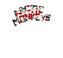 Arctic Monkeys - United Kingdom White by Ollie Vanes