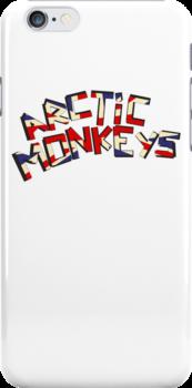 Arctic Monkeys - United Kingdom White by 0llie