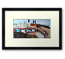 St Andrews Harbour Framed Print