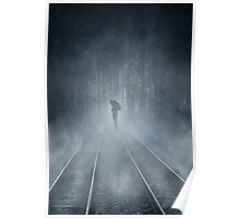 Lonely Figure Poster