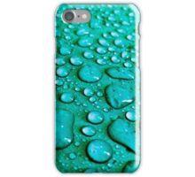 Aqua Waterdrops iPhone Case/Skin