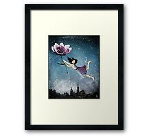 Now she is free Framed Print