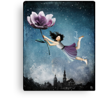 Now she is free Canvas Print
