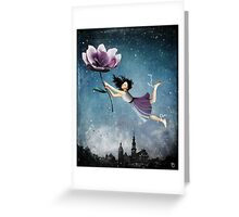 Now she is free Greeting Card