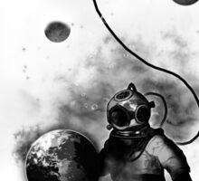 Deep Sea Space Diver Sticker