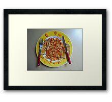 Big Breakfast by Luciano Pelosi Framed Print
