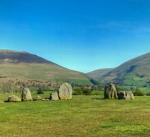 The Northern Mountains From Castlerigg by Jamie  Green